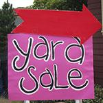Hollister Yard Sale this Weekend